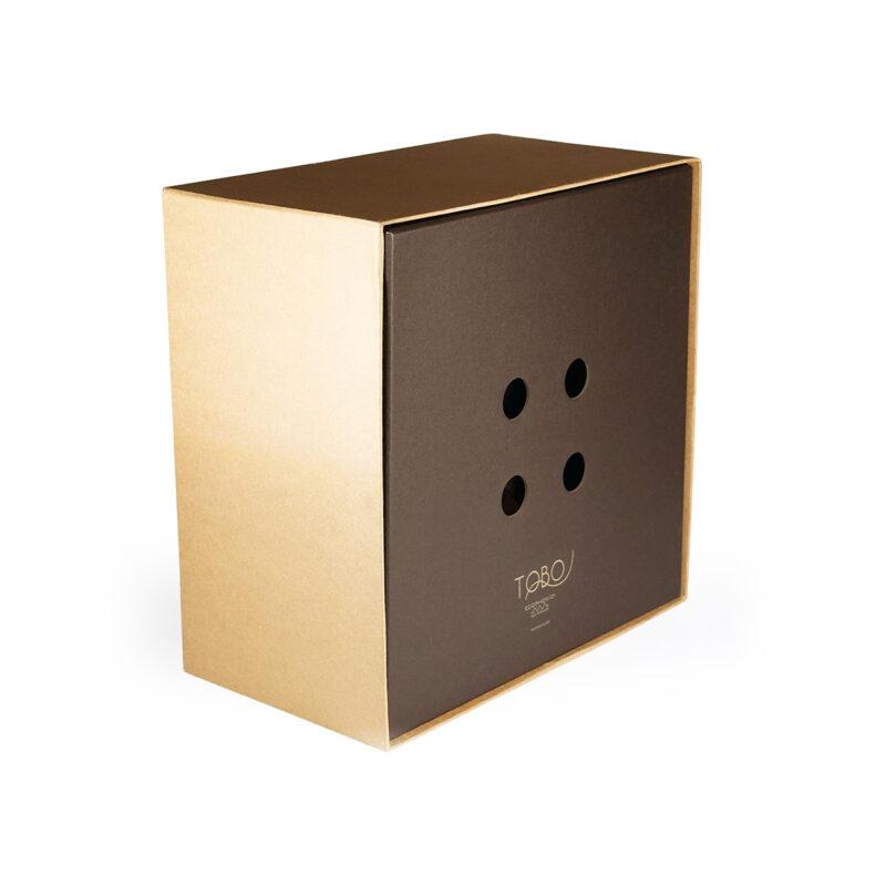 Caja de modelo TOBO