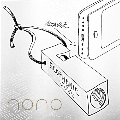 altavoz para movil nano