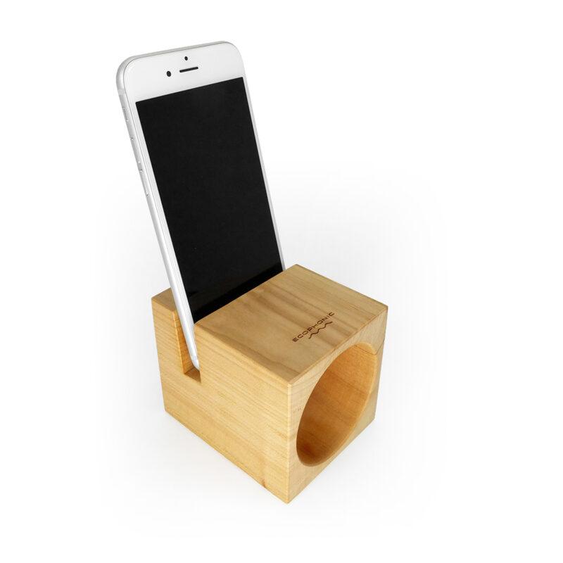 Altavoz serie only uno en madera de cerezo español | ecophonic